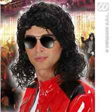 PARRUCCA MICHAEL JACKSON RE DEL POP CARNEVALE