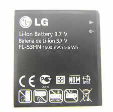 ORIGINALE LG OPTIMUS 3d p920 Speed 2x p990 p999 fl-53hn 1500mah BATTERIA BATTERY