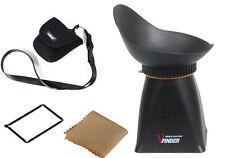 """3"""" LCD Viewfinder 2.8X Eyecup for Nikon D80 D90 D300 D300S D7100 D7000 5D2 4:3"""