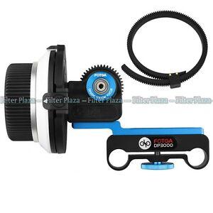 FOTGA DP3000 DSLR Follow Focus FF for 15mm Rod Rig 6D 60D 600D 5D2 5D3 GH2 D7000