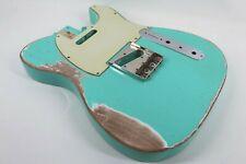 MJT Official Custom Vintage Age Nitro Guitar Body Mark Jenny VTT Seafoam Green