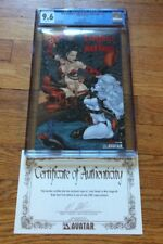 Lady Death VS WAR ANGEL #1 RED FOIL LIMITED EDITION HIGHEST GRADED CGC