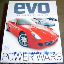 Evo Magazine Issue 90 - Ferrari 599 GTB Lamborghini Murcielago Panagni Zonda F
