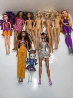 Lot of 10 Barbie, Chelsea Dolls 1990-2017 MatteL Barbie, Accessories, Clothes