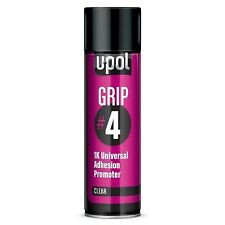 UPol Grip 4 1K Universal Adhesion Promoter 450ml Aerosol Can clear GRIP/AL