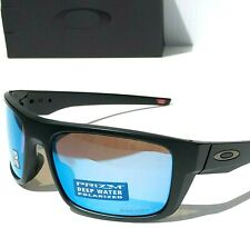 def33b7460d24 NEW  Oakley DROP POINT Matte Black POLARIZED PRIZM Deep Water Sunglass 9367