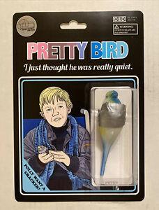 Dumb And Dumber movie custom toy Super Secret Fun Club Pretty Bird Sdcc mondo