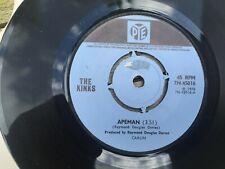"""The Kinks, Apeman/ Rats 7"""" vinyl, Pye 1970"""