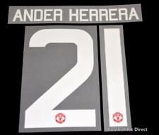 Manchester United Ander Herrera Football Shirt Name/Number Europa/League Cup H
