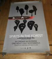 DEPECHE MODE SPIRITS IN THE FOREST  4FT subway PROMO POSTER 2019 RARE