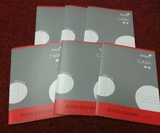 SILVINE A4 ACCOUNTS BOOK KEEPING CASH X 6 BOOKS