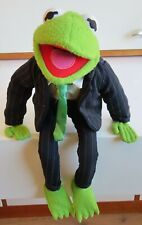 Kermit the Frog Businessman Pinstripe Suit Doll Junior Toys Muppets Muppet Show