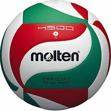 Size 5 Molten V5m4500 Volleyball Ball PU Leather Soft Touch Indoor Outdoor Game