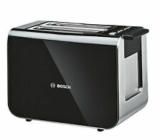 Bosch Styline Collection Black 2 Slice Toaster TAT8613GB