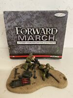 CORGI  FORWARD MARCH EL Alamein German Mortar Team 1942 SOLDIER SET