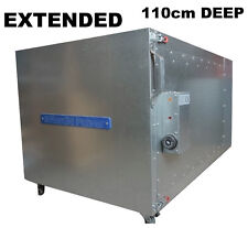 Extended Powder Coating Oven NordicPulver Powder Paint Cure Oven 110cm deep