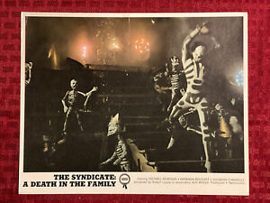 The Syndicate: A Death In The Family Lobby Card Photo Movie Still 8x10