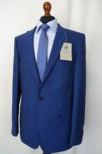 Men's New Alexandre Savile Row Blue Slim Fit Suit 42L W34 L32 AA1571