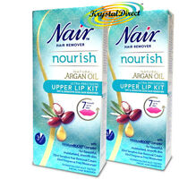 Nair Gentle Effective Upper Lip Face Facial Hair Remover Removal