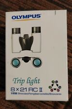 Olympus 8 x 21 Rc Ii Binoculars - Pearl White
