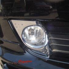Chrome Fog Light Cover Bezel Trim Pair Fit Acura TSX 2009 2010