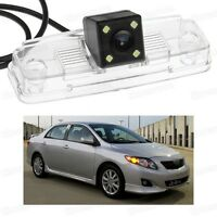 4 LED Car Rear View Camera Reverse Backup Parking for Toyota Corolla 2009-2013