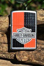 Zippo Lighter - Harley Davidson - Harley Deco - Bar and Shield - Model # 24030