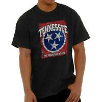 Tennessee Volunteer State Flag Vintage Vacation Souvenir Classic T Shirt Tee