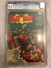 Batman #43 CGC 3.5, 1947 Golden Age (Penguin Cover and Story)