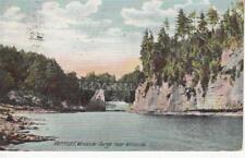 Q67.Vintage US Postcard.Winooski Gorge near Winooski.Vermont.