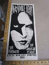 2005 Rock Roll Concert Poster Nashville Pussy Print Mafia S/N LE-66 Kiss Art
