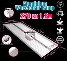 Wheelchair Ramp 6FT Aluminium Folding Mobility Scooter Portable Loading Ramps