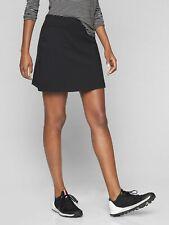 Athleta Sweet Sport Skort Skirt in Black - size Small Tall ST