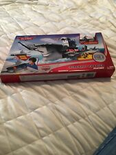 New In Box NIB Disney Planes Aircraft Carrier Playset Includes Dusty Crophopper