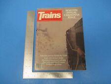 Vintage Trains Magazine December 1982 Yuletide On Santa Fe Trail Dixieland M799