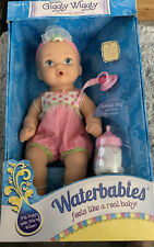 Giggly Wiggly Waterbabies Baby Girl Doll 13in. Fill with Warm Water Realistic