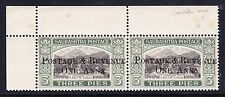 SORUTH 1950 1a ON 3p BLACK & BLACKISH GREEN WITH SMALL 'A' CW 5c SG 61 MNH.