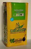 500g Organic Kraus Yerba Mate Bio Organic Tea Free Delivery & Gift Chia Seeds