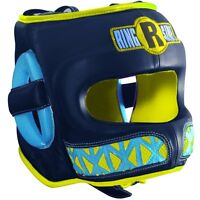 Ringside Boxing Youth Face Saver MMA Sparring Headgear - Blue / Yellow