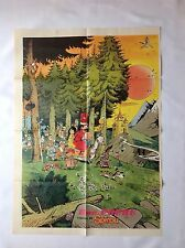 BD - Supplement Journal Spirou 2279 Poster Doc Poche / 1981 / WASTERLAIN / RARE