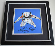 Felix Baumgartner SIGNED Framed LARGE Square Photo Autograph display Space COA