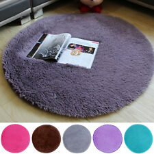Soft Anti-Skid Floor Mat Shaggy Area Rug Dining Room Carpet Home Bedroom