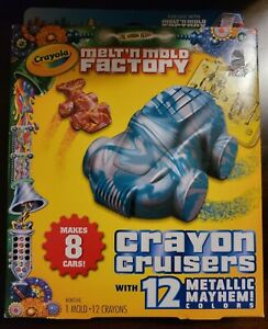 Crayon Cruisers Expansion Pack for  Melt & Mold Factory METALLIC MAYHEM COLORS