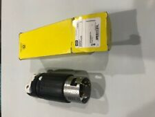 HUBBELL CS6365C 50 AMP TWIST LOCK PLUG 3POLE 4 WIRE 125/250 VOLT PLUG