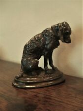 More details for a fine 19th century bronze dog signed e fremiet