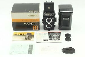 [MINT in Box] Yashica Mat-124G Medium Format TLR Camera from Japan J16C