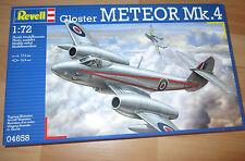Gloster Meteor Mk 4 IV, Revell 04658 kit kit en 1:72