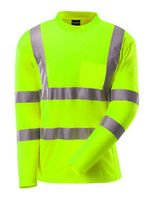 Hi Vis ANSI Class 3 Reflective Safety Work T Shirt High Visibility Breathable