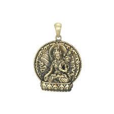White Tara Buddha Zen Yoga Pendant Necklace Jewelry 2578