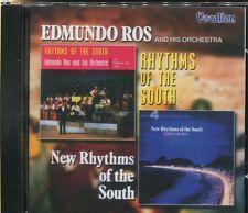 EDMUNDO ROS - RHYTHMS OF THE SOUTH & NEW RHYTHMS OF THE SOUTH - CD